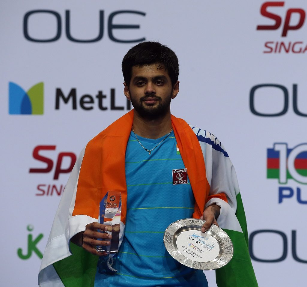 B. Sai Praneeth Medals