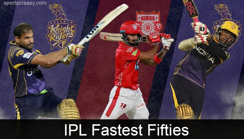 Fastest Fifties in IPL