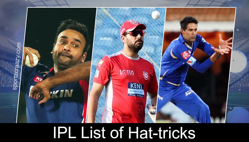 List of Hat-Tricks in Indian Premier League