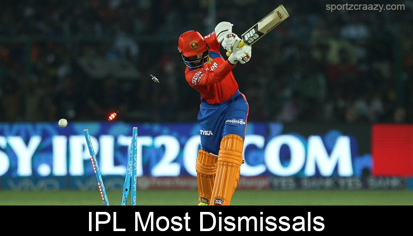 Most Dismissals in Indian Premier League