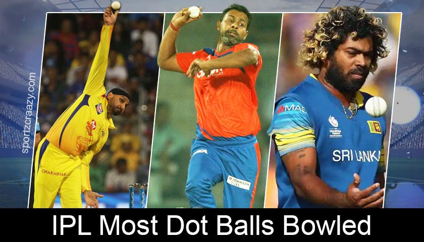 IPL Most Dot Balls Bowled