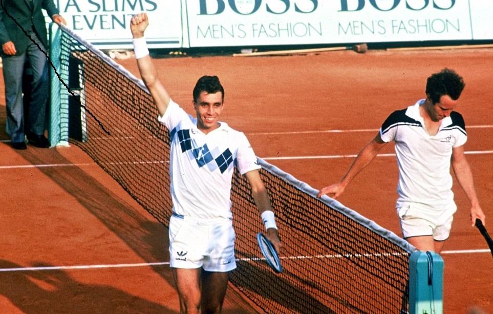 John McEnroe and Ivan Lendl