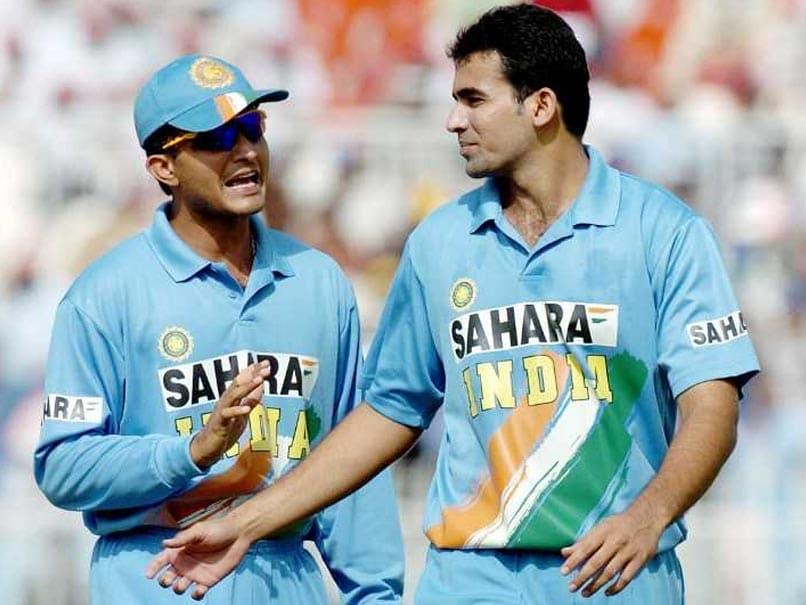 Dada and Zaheer Khan
