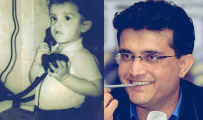 Sourav Ganguly childhood