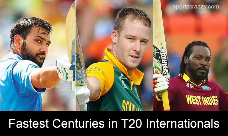 List of Top 5 Fastest Centuries in T20 Internationals