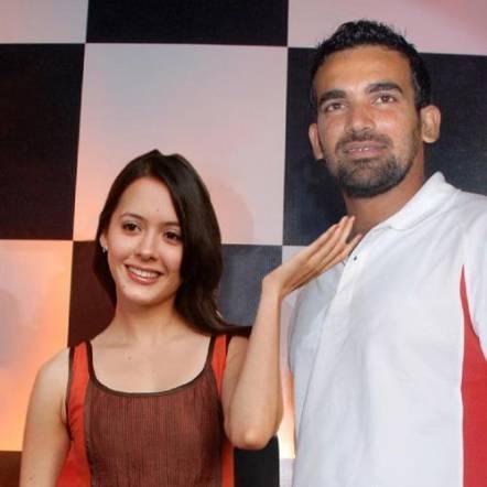 zaheer khan affair with isha sharvani