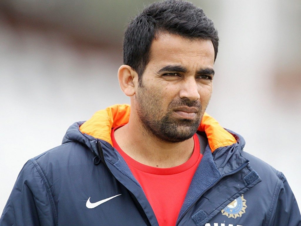 zaheer khan heated moment with the security guards