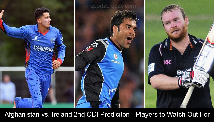 Afghanistan vs. Ireland 2nd ODI Prediciton