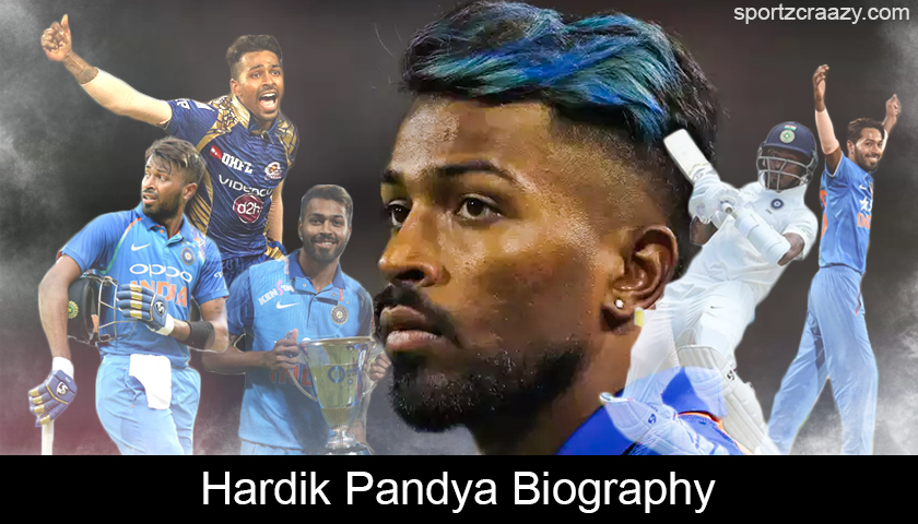 Hardik Pandya Biography