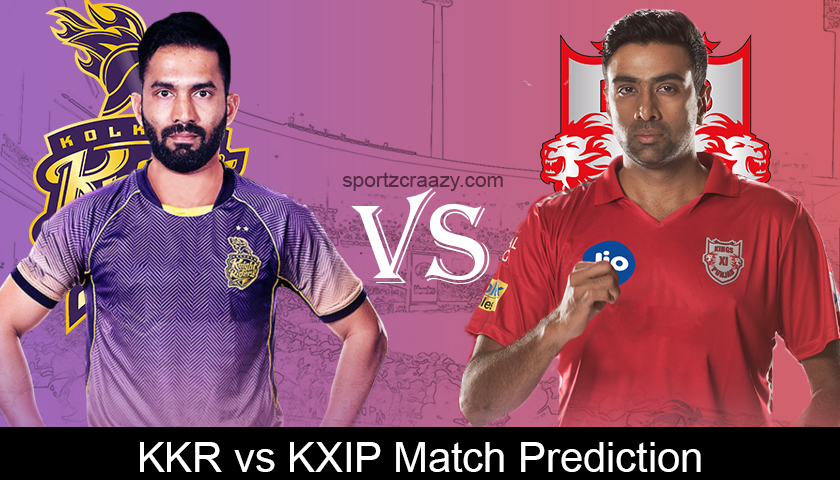 Kkr Vs Kxip Ipl 2019 6th Match Prediction Dream 11 Team News Probable 11