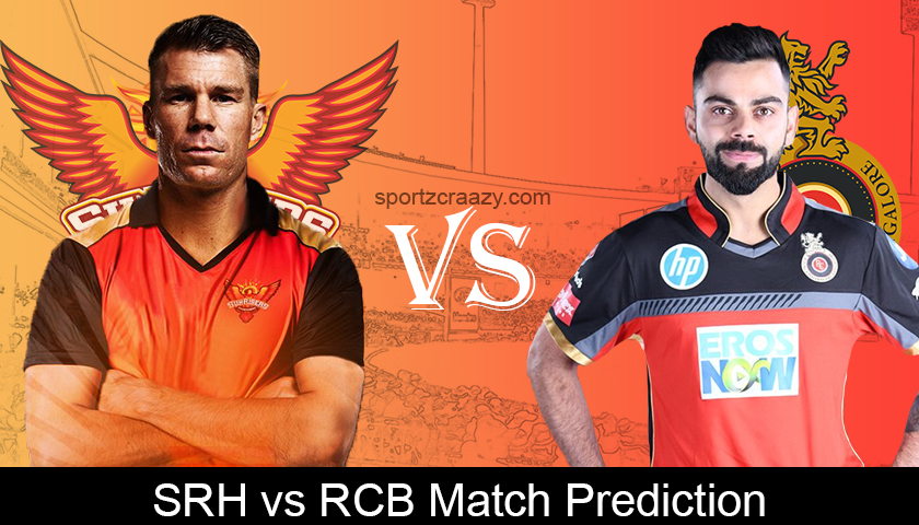 RCB VS SRH Match Prediction