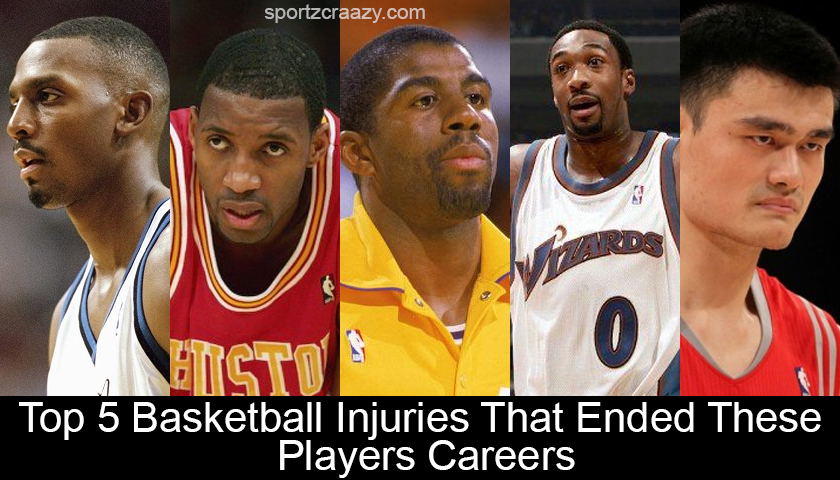 Top 5 Basketball Injuries That Ended These Players Careers