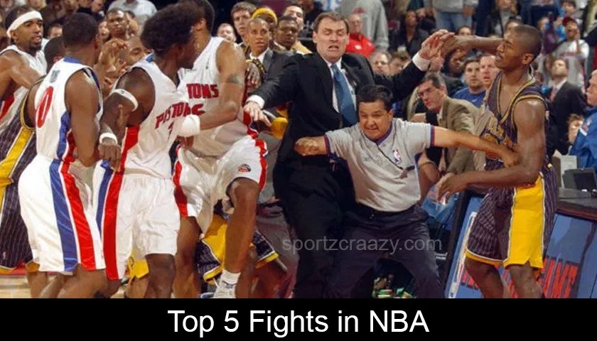 Top 5 Fights in NBA