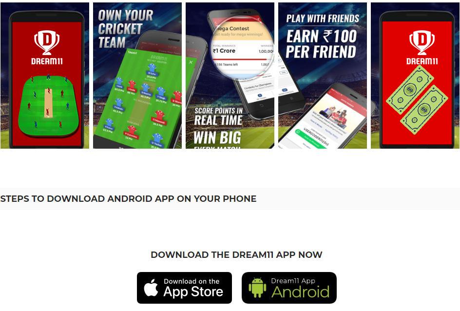 Dream11 App