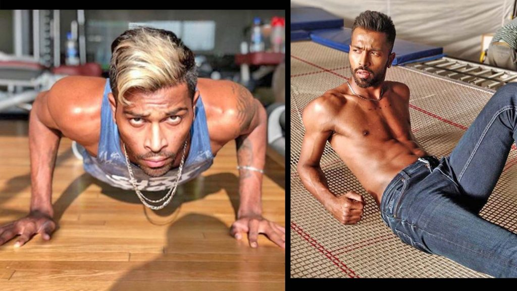 Hardik Pandya fitness