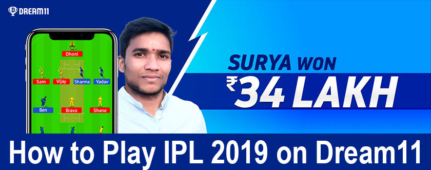 How to Play IPL 2019 on Dream11