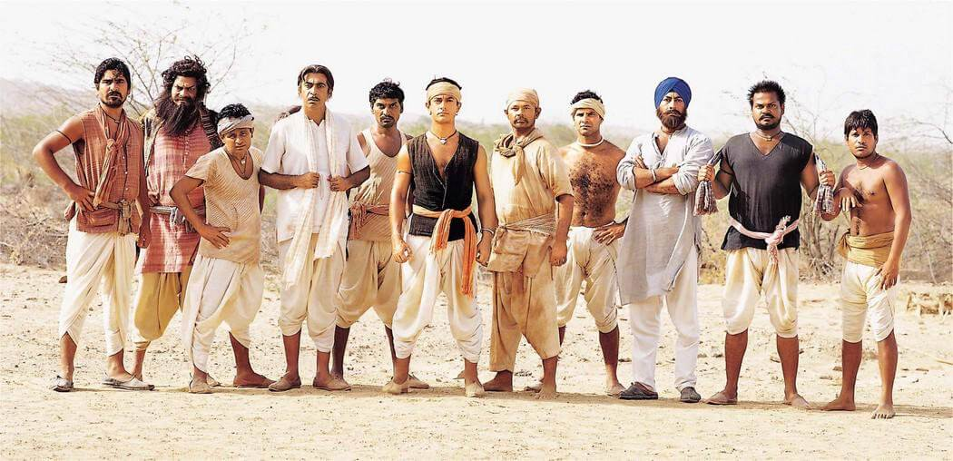 Lagaan (2001) Bollywood Movies Based On Cricket