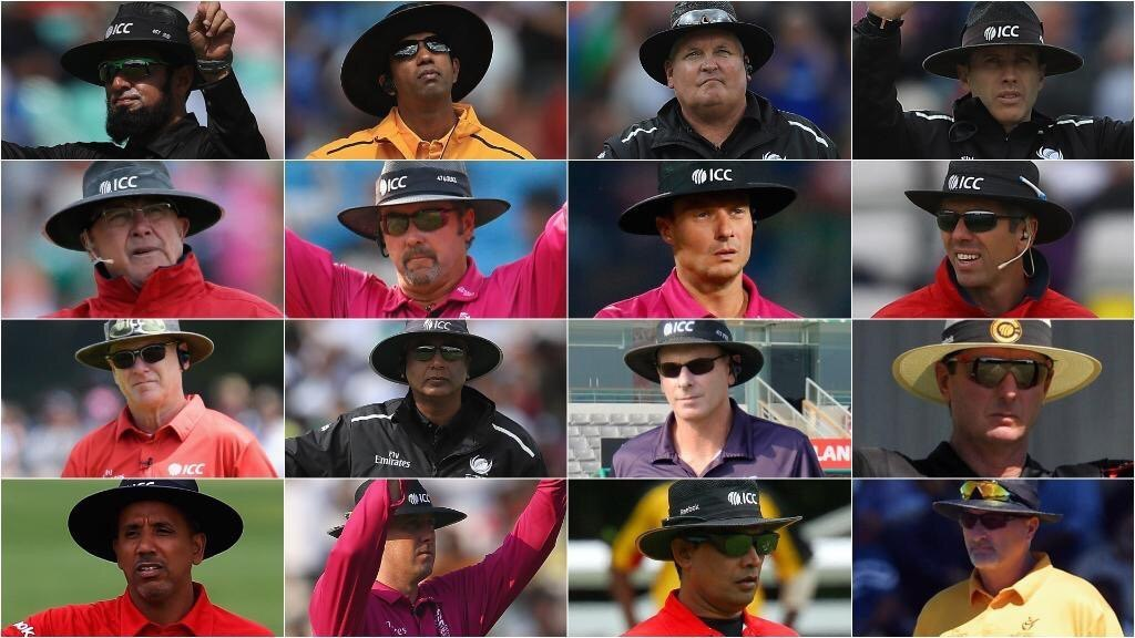 2019 World Cup Umpires