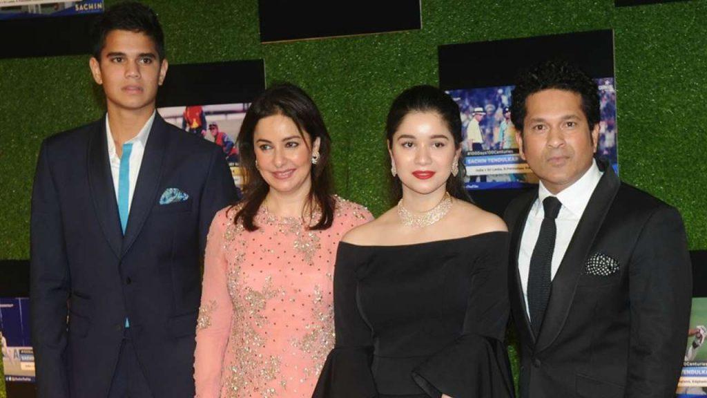 Sara Tendulkar Family