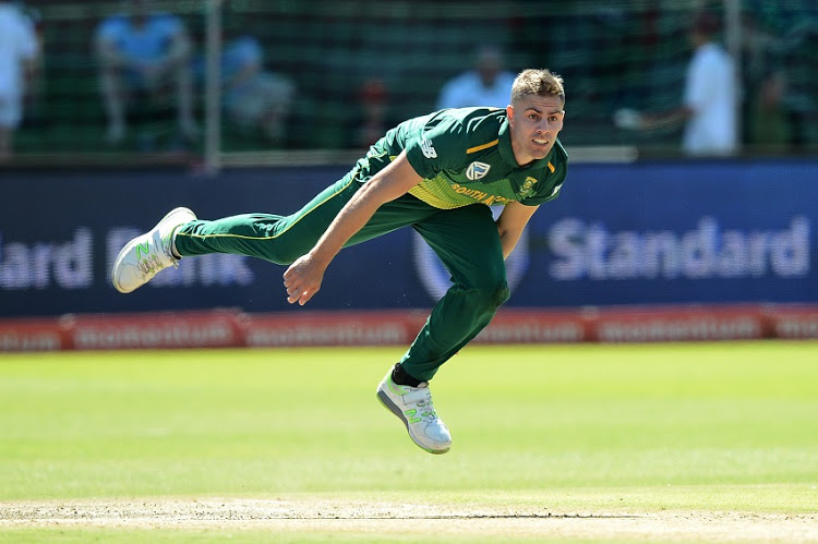 Anrich Nortje South Africa Cricket Team Squad