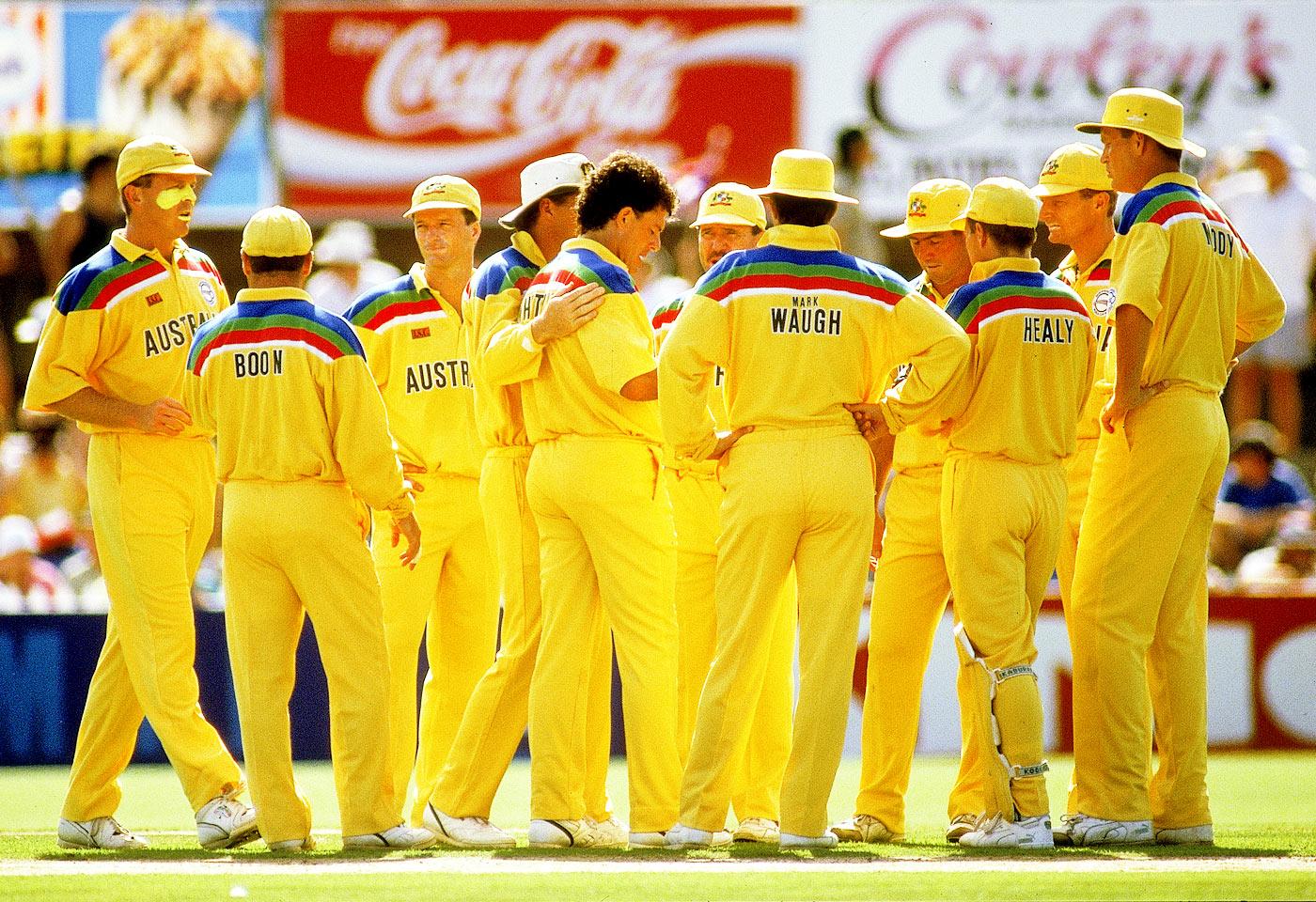New Zealand vs Australia World Cup 1992