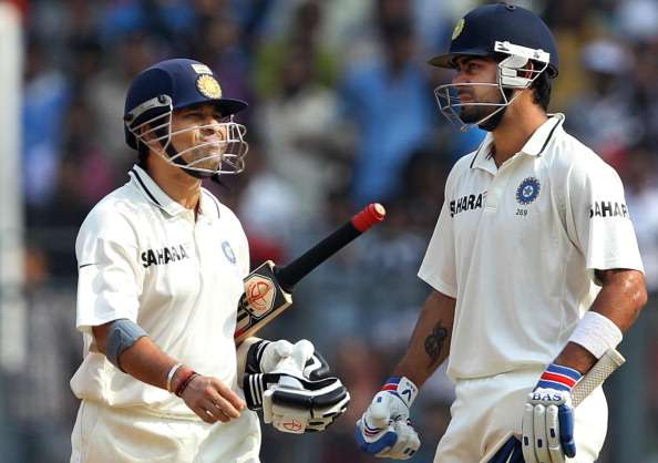 Sachin vs Kohli In Test Cricket
