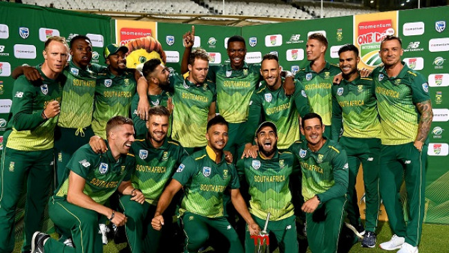 South Africa's World Cup squad