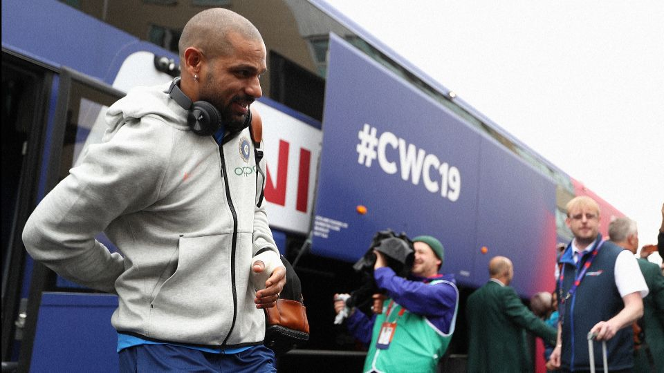 Shikhar Dhawan Ruled out of the World Cup 2019