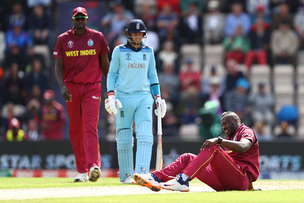 Andre Russel out of World cup