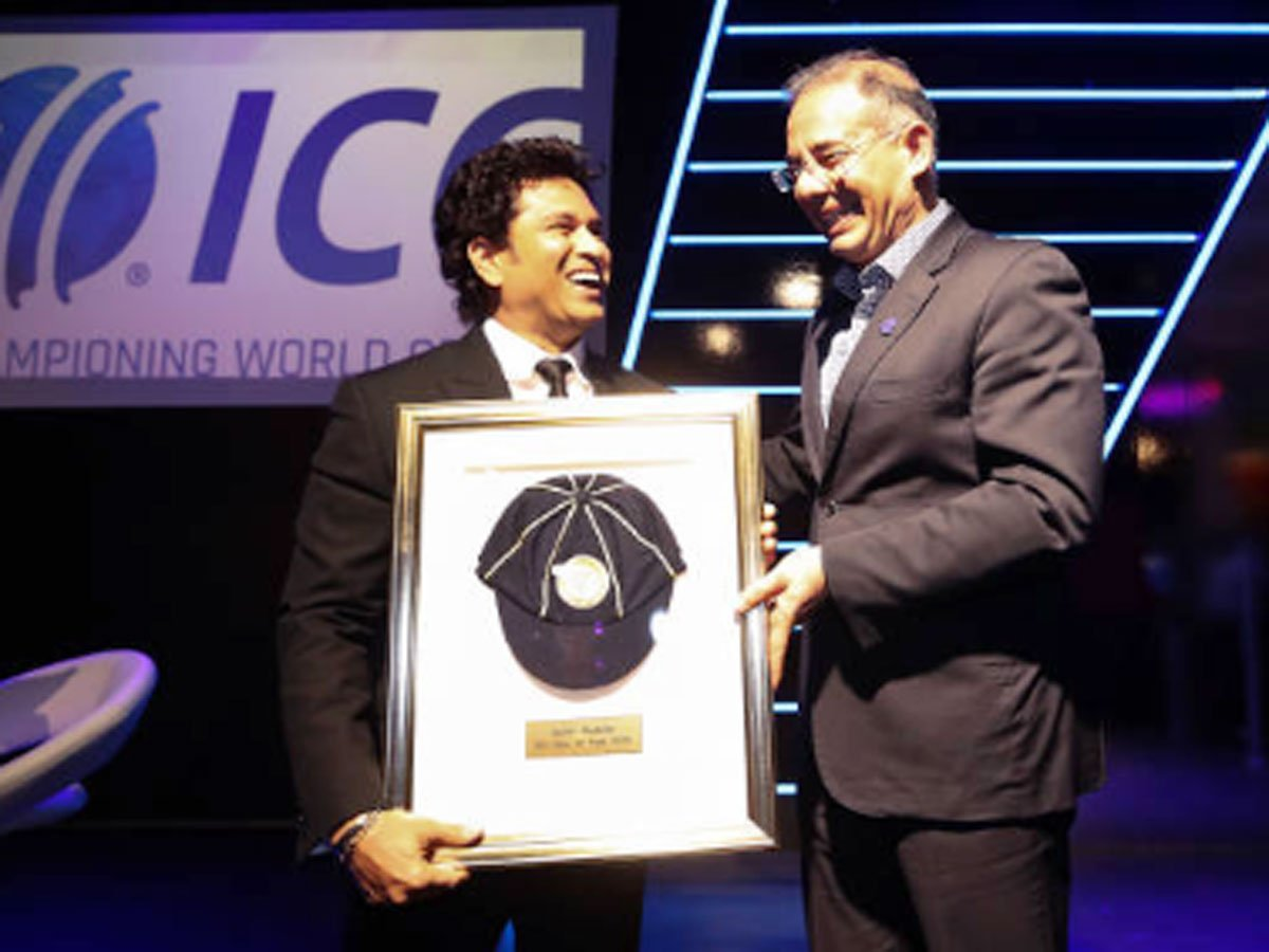 ICC Cricket Hall of Fame Sachin Tendulkar