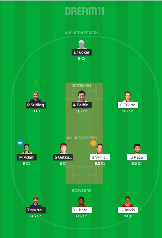 IRE vs ZIM- 3rd ODI