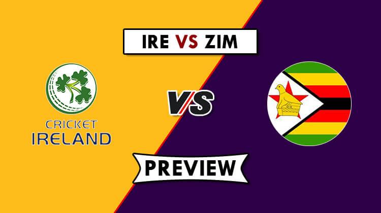 IRE vs ZIM 3rd ODI Dream11 Prediction