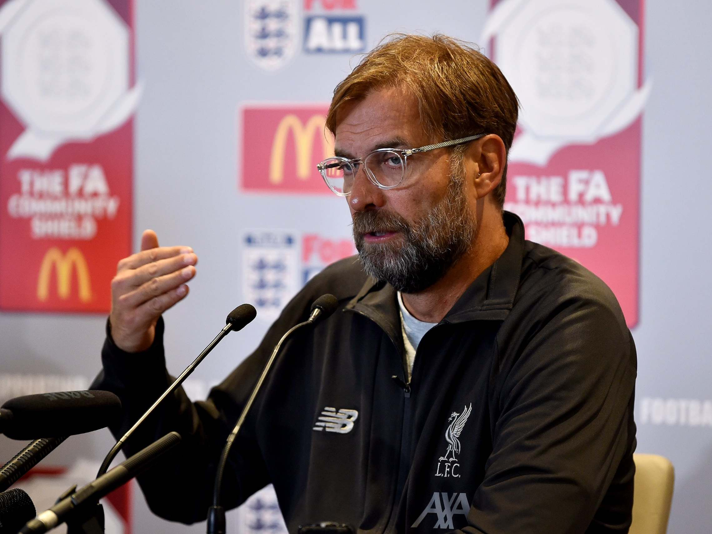 jurgen klopp Press Confrence Photo