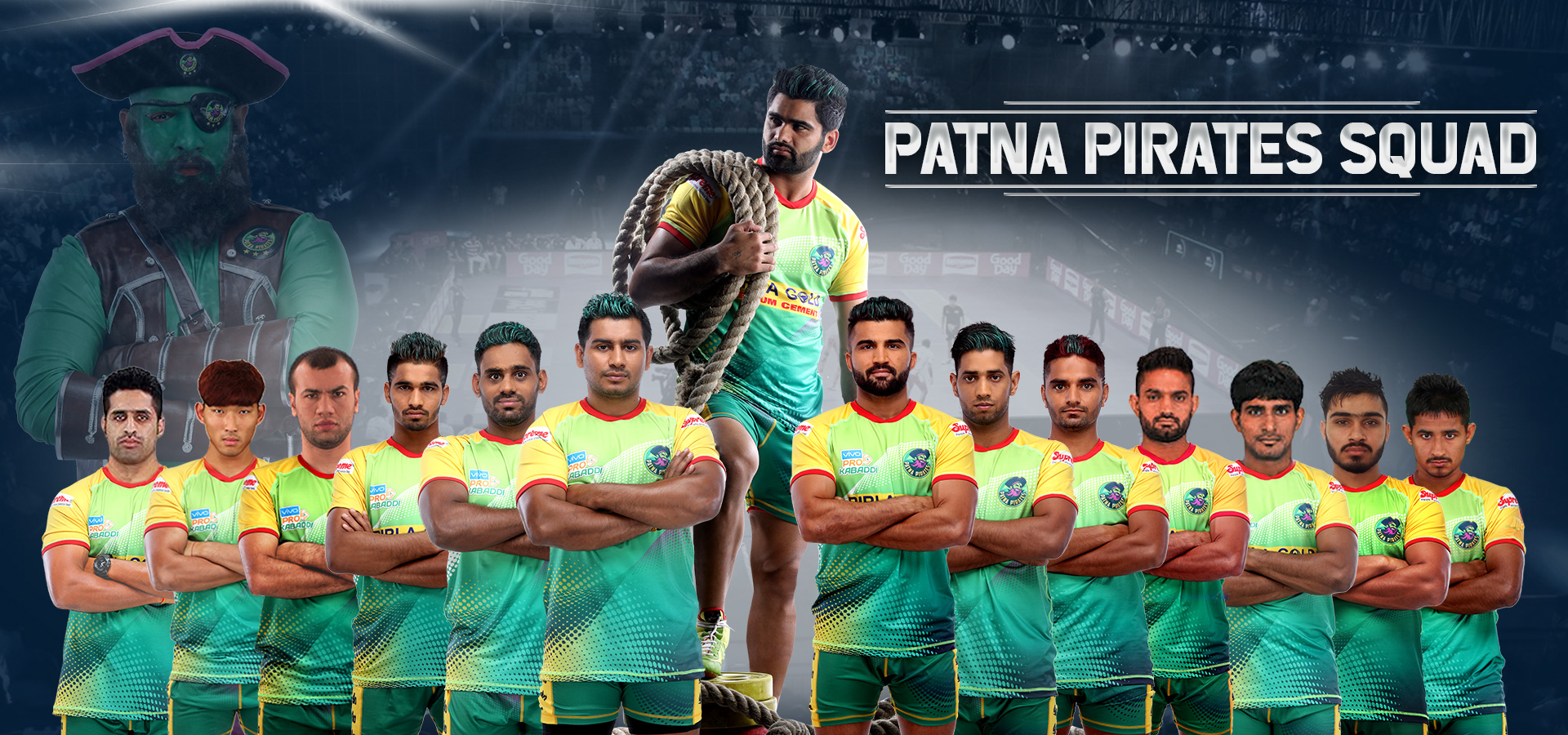 Patna Pirates Squad 2019