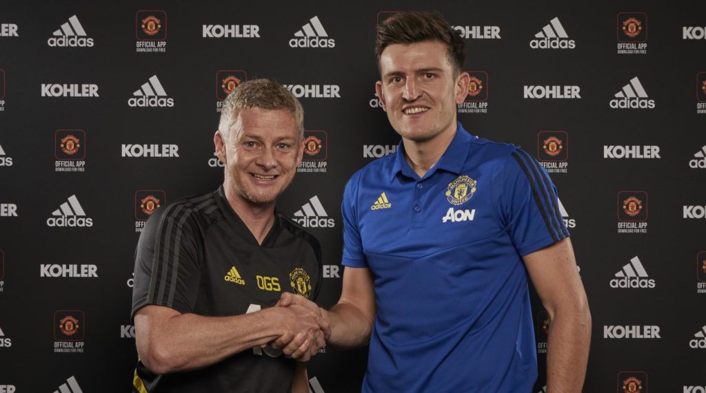 Harry Maguire transfer in Manchester United