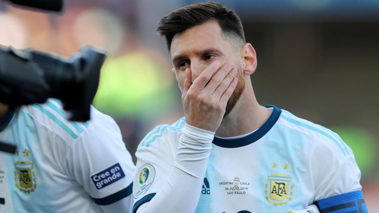 Lionel Messi Banned from International Football