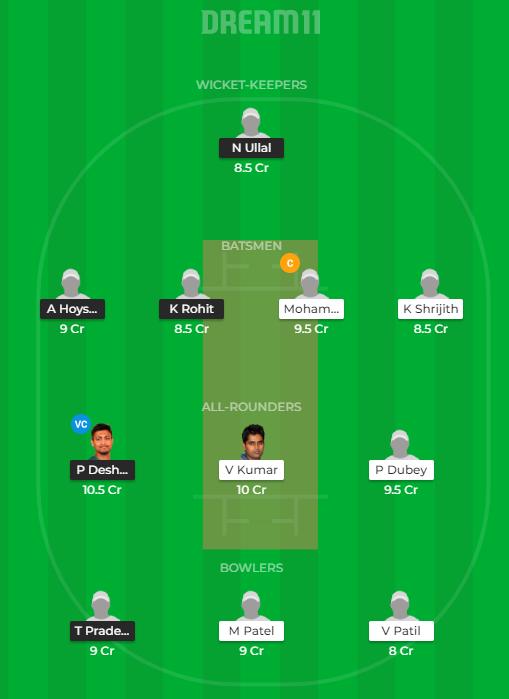 SL vs HT Dream11 Team