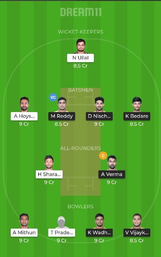 MW vs SL Dream11 Team