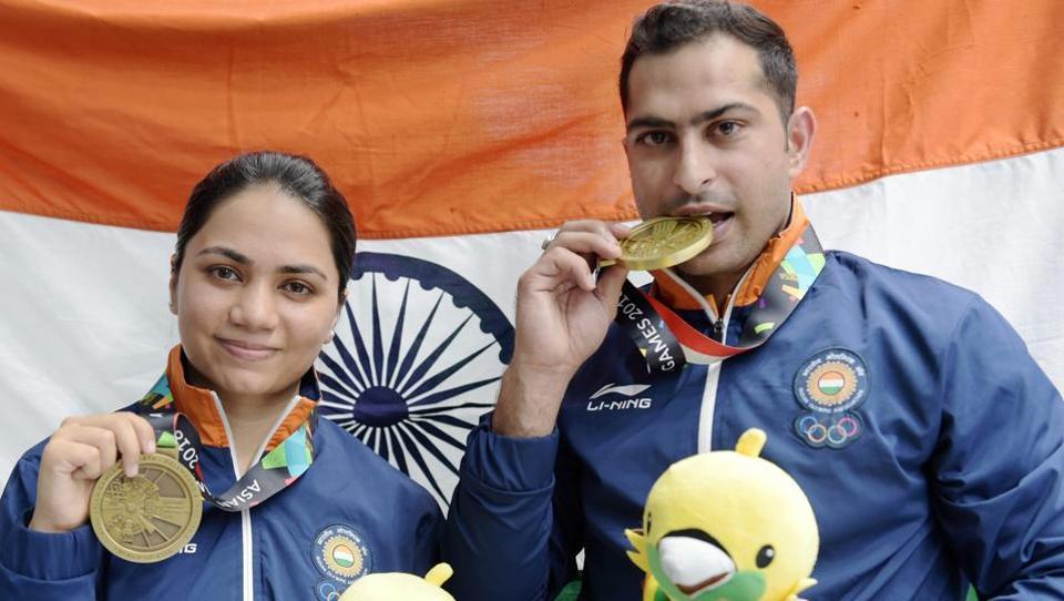 Apurvi Chandela achievements