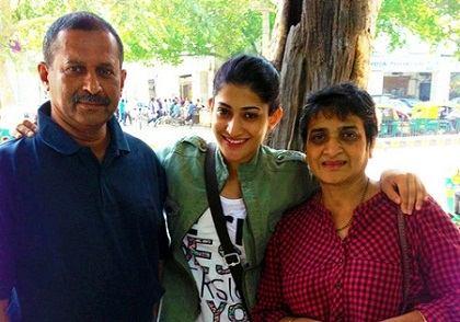 Ashwini Ponnappa Family