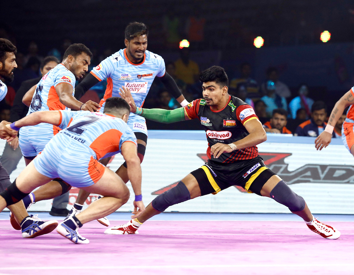 Bengal Warriors vs Bengaluru Bulls