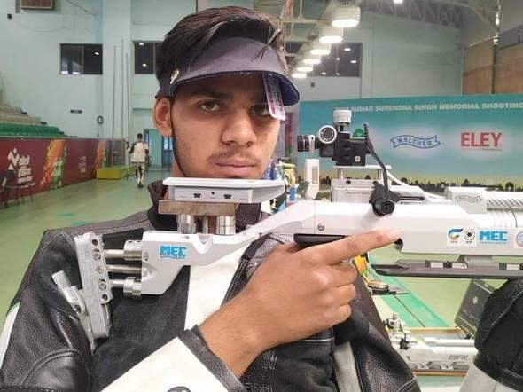 Divyansh Singh Parmar Shooter