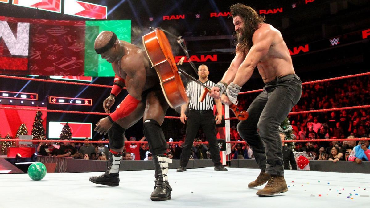 Elias WWE fight