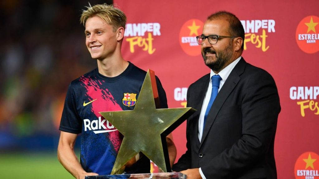 Frenkie de Jong Achievement
