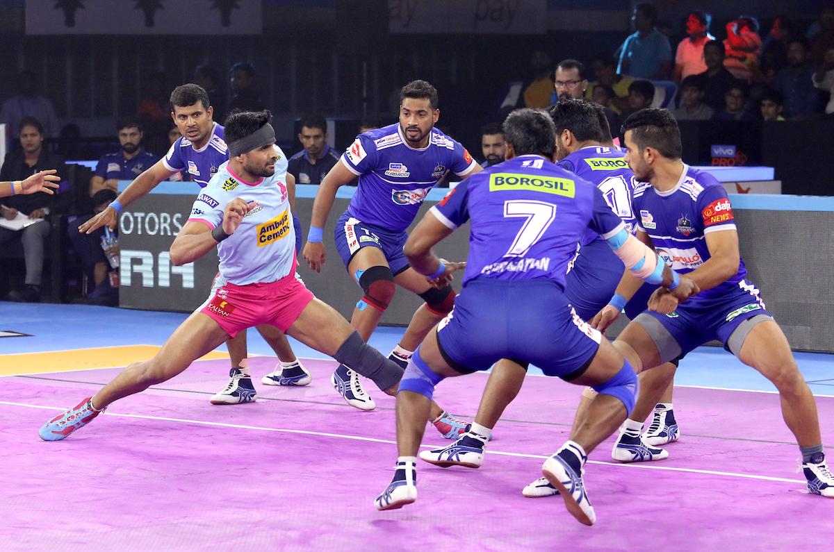 Haryana Steelers vs Jaipur Pink Panthers