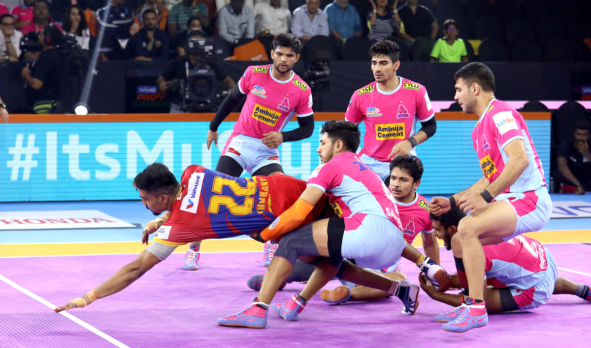 Jaipur Pink Panthers vs UP Yoddha