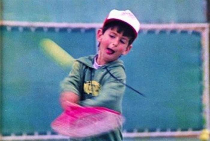 Novak Djokovic Early life