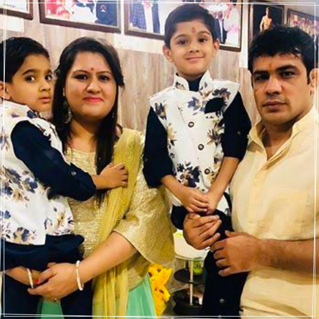 Sushil Kumar Family