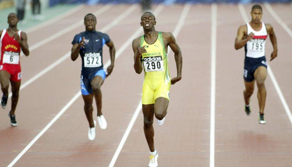 Usain Bolt Professional Life