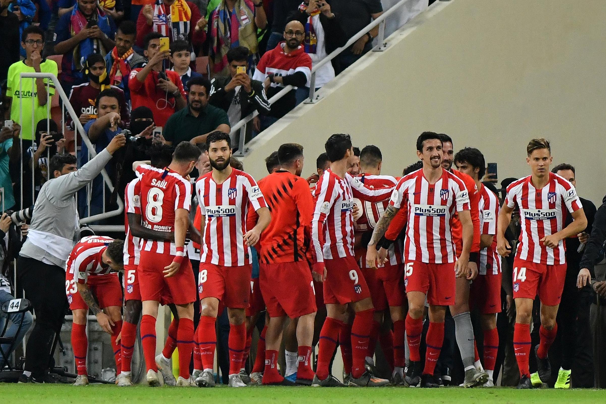 Diego Simeoni praises Atletico Madrid players for comeback a